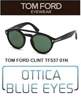 TOM FORD UOMO CLINT TF 537 01N Sunglasses солнцезащитные очки Made in Italy FT
