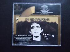 CD►   LOU REED / TRANSFORMER  24 Karat Gold CD  >>> absolute Rarität <<<<