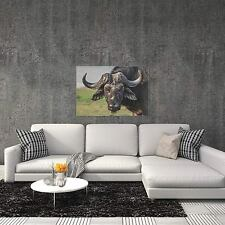Buffalo Wall Art Rustic Buffalo Decor Man Cave Decor on Metal