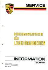 PORSCHE Service-Information Technik  03/85