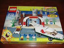Lego Spongebob Squarepants 3832 Emergency Room Wounded Spongebob Doctor Figures