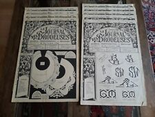 9 ANCIENS JOURNAUX LE JOURNAL DES BRODEUSES 1955 VINTAGE EMBROIDERY PATTERNS