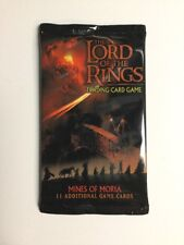 LOTR Lord Of The Rings Mines of Moria Booster Pack New! CCG TCG