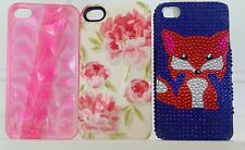 Iphone 4S Cases, Set Of 3 Used Very Good Condtion