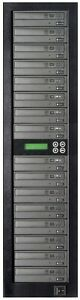 MediaStor #a68 1-15, 1 to 15 Target 16X Blu-ray 100GB BDXL LG Burner Duplicator