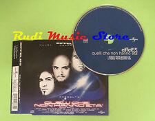 CD Singolo EIFFEL 65 QUELLI CHE NON HANNO ETA' 2003 UNIVERSAL no mc lp dvd (S5)