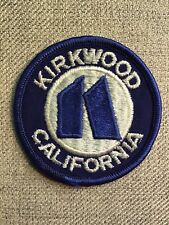 Kirkwood Mountain Resort ~ Vintage Ski Patch ~ California ~ New!