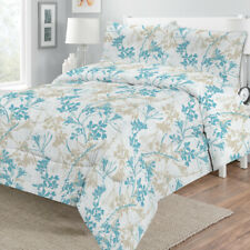 Ava Printed Quilt/Comforter 250 Polyester Fill Set by Georges Fine Linens | King