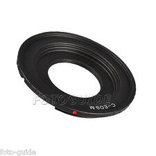 Adaptador compatible con C-Mount objetivamente en la Canon EOS m10, eos m3, eos m2, EOS M