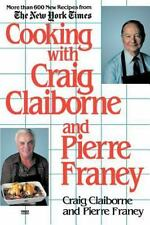 Cooking with Craig Claiborne and Pierre Franey Paperback New York times Recipes