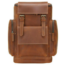 """Os Homens Flor integral viagem mochila de couro e Notebook 15"""" saco, satchel, bolsa escolar"""