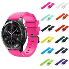 22mm Silicona Pulsera Correa De Reloj Para Samsung Gear S3 Frontier/Classic