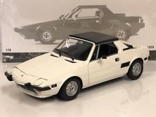 Minichamps 100121665 Fiat X1/9 1974 Weiß 1:18 Maßstab Neu