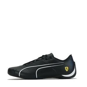 Puma Men's Ferrari Future Cat Ultra Trainers Shoes Black