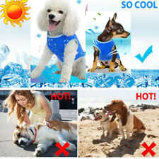 New listing mall Medium Pet Dog Summer Cooling Vest Jacket Swamp Clothes Gift fot Puppy S