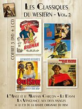 3 DVD + 1 CD : The Outlaw - Angel and the Badman - One-Eyed Jacks / IMPORT