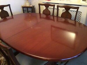 G plan vintage 1970s mahogany dining table and chairs