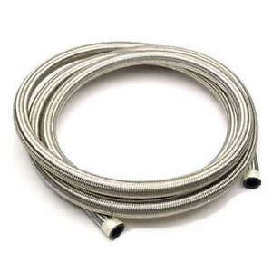 8mm STAINLESS STEEL BRAIDED FUEL LINE Petrol HOSE NITRILE RUBBER FLEXIBLE PIPE