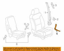 GM OEM Front Seat Belt-Buckle Tensioner 19328683 - LEFT DRIVER - BLACK