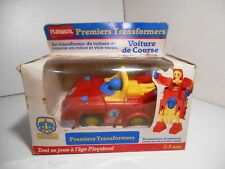 premier transformers playskool 1987 voiture course vintage nb french box rare G1