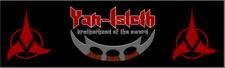 Klingon Bumper Sticker,Yan-Isleth Brotherhood Of Sword