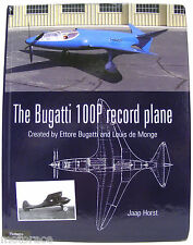 FIRST EDITION: The Bugatti 100P Record Plane book w/ small blemish on back cover