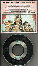 ARMY OF LOVERS My Army of Lovers 1991 USA MINT PROMO DJ CD single PROCD4799