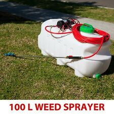New 100L 12V Garden Spot Spray Weed Sprayer Tank and Pump high pressure 120psi