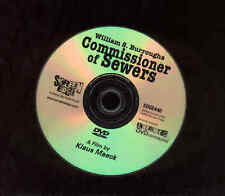 William S. Burroughs DVD Commissioner Of Sewers Klaus Maeck Film NO CASE
