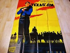 TEXAS JIM    !  affiche cinema  western 1965