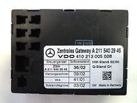 Mercedes Steuergerät Zentraler Gateway ZGW W211 E Klasse 2115402945 A2115402945