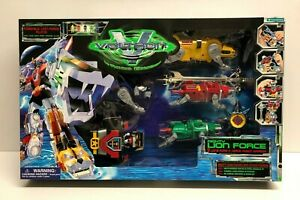 1998 Trendmasters VOLTRON Third Dimension MIGHTY LION FORCE Set ~ Factory Sealed
