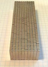 """100 NEODYMIUM magnets. 3/4"""" x 3/16"""" x 1/8"""" super strong rare earth magnets. N52"""