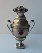 Rare signed 18th century South Jutland Solid silver vinaigrette/ Hovedvandsaeg.