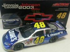 JIMMIE JOHNSON 2003 LOWES CHEVY 400TH WIN 1/24 ACTION DIECAST CAR 1/3,708