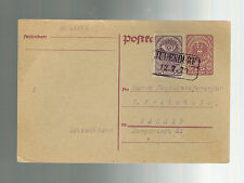 1920 Judendorf Austria Postal Stationery Postard Cover to Aachen Germany