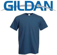 Camisetas de hombre azul Gildan