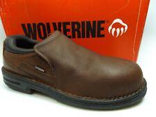WOLVERINE Marcum Slip On Steel Toe Work Slip Resistant LEATH Men SZ 13.0 M D8665