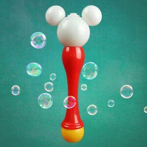 Disneyland Mickey Mouse Bubble Blower Light Up Wand