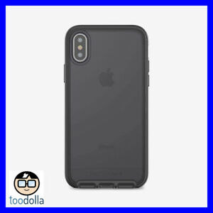 Tech 21 Evo Elite protection case with drop protection, iPhone X/XS, Black