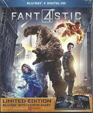 Fantastic Four 4 Limited Edition Photo Diary Blu-Ray Digital NEW .mails1st class