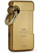 S.T. Dupont Hooked Jet Lighter with Ring, Gold Ingot, 032014 (32014) New In Box
