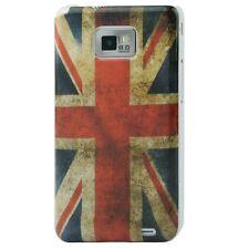 Schutzhülle f Samsung Galaxy S2 / plus + Tasche Case Cover Flagge England GB