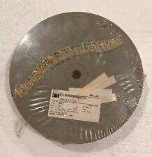 """NEW 3M Microfinishing Film Roll 5//8/"""" x 600/' x 2/"""" 263L IMFF A//O 3MIL TA42856"""