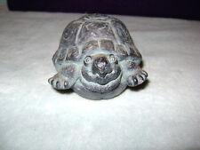 VINTAGE TURTLE Art Figurine by Goose Creek Manufacturing Ashville NC