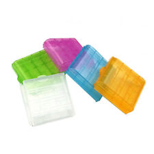 Hard Plastic Case Storage Box Holder Organiser for AA AAA 18650 Battery dsfd