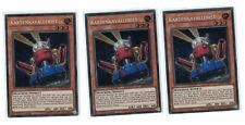 3x Kartenkavallerist blrr-de053, 1st, secret rare, Mint, Allemand, PLAYSET