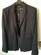 Next Tailoring Navy Blue Suit Size 16