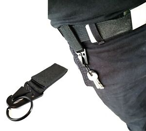 Key Ring Belt Clip for Hiking Camping Climbing Security