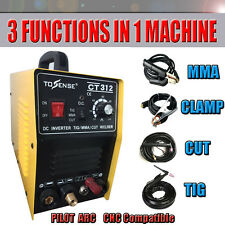 NEW 110V/220V CT312 Pilot arc plasma cutter tig/mma welder 3in1 welding machine